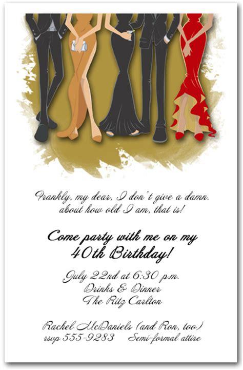 formal birthday invitation templates formal cocktail invitations