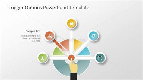 5 Segment Multiple Choice Slide Slidemodel Choice Template Powerpoint