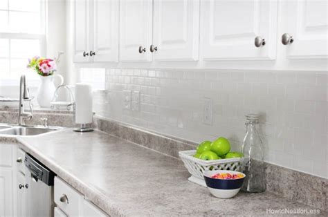 Easy To Install Backsplashes For Kitchens 10 beautiful kitchens with laminate countertops