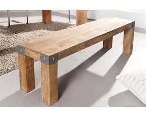 banc en bois massif 160 cm collection espen tr 232 s robuste