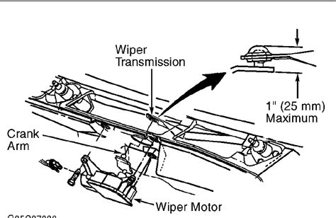 repair windshield wipe control 1994 chevrolet impala electronic valve windshield wiper wiring diagram 2000 sonoma wiper download