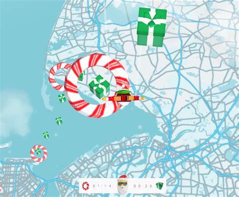 santa map s santa maps dive lets you a pegman in chrome