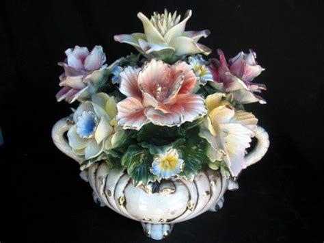 capodimonte floral centerpieces capodimonte pinterest