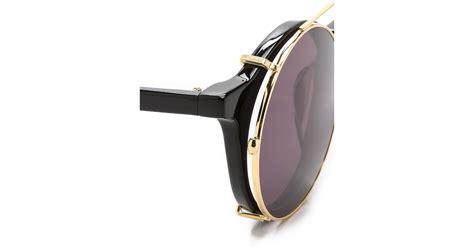 Matahari Wedges lyst sunday somewhere matahari sunglasses black black in black