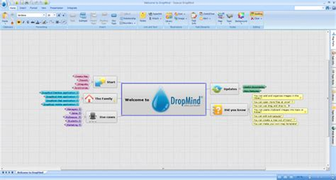 dropmind mind map modeler software powerpoint presentation