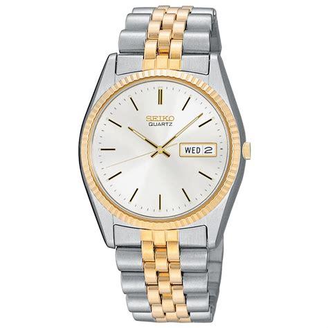 s seiko 174 two tone 187690 watches at sportsman