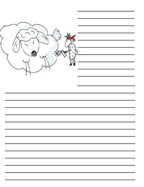printable journal writing paper pin printable journal writing paper for kindergarten on