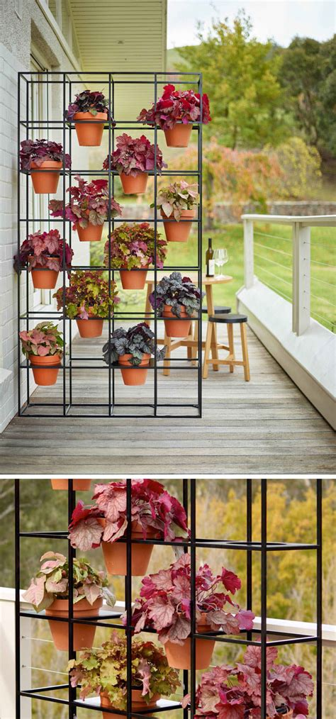 easy   create  vertical grid garden   home