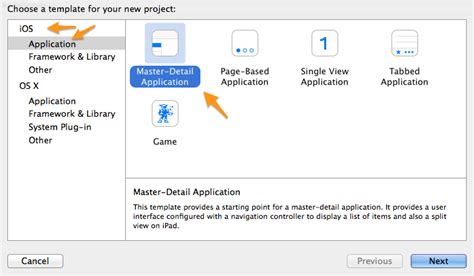 xcode tutorial master detail application swift tutorial building an ios application part 1