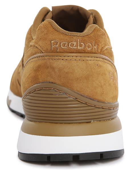 Jual Reebok Gl 6000 Brown reebok gl 6000 tobacco suede sneakers in brown for tobacco lyst