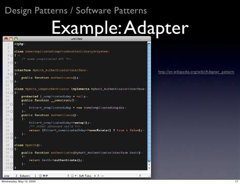 adapter design pattern in software engineering software engineering in php