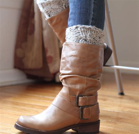 boot warmers boot cuff knit leg warmers wool blend cable