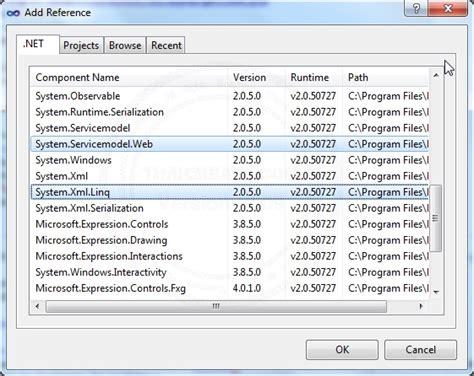 xml linq tutorial vb net vb net c create json datacontractjsonserializer