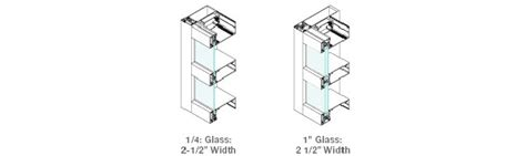 conventional curtain wall system i beam curtain wall systems