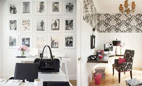 black and white home decor decorating a black white office ideas inspiration