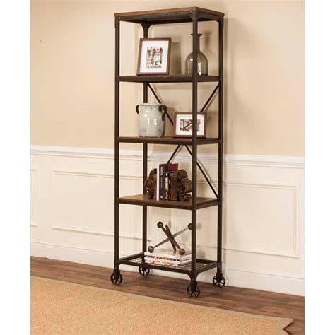 open back shelves bookcases cramco inc craft tall back metal wood bookcase with