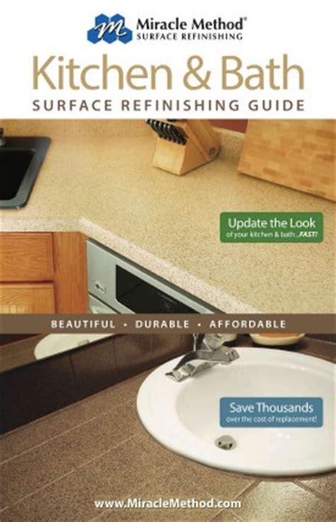 miracle method bathtub refinishing reviews kitchen and bath refinishing guide