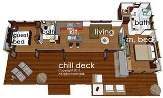 hummingbird h3 house plans modern style house plan 2 beds 2 baths 860 sq ft plan 484 5