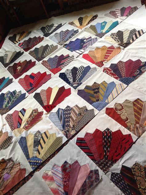 Silk Tie Quilts Patterns by Silk Tie Quilt