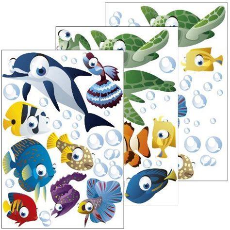 Wandtattoo Kinderzimmer Ozean by Wandsticker Unterwasserwelt Fische Ozean Wandtattoo