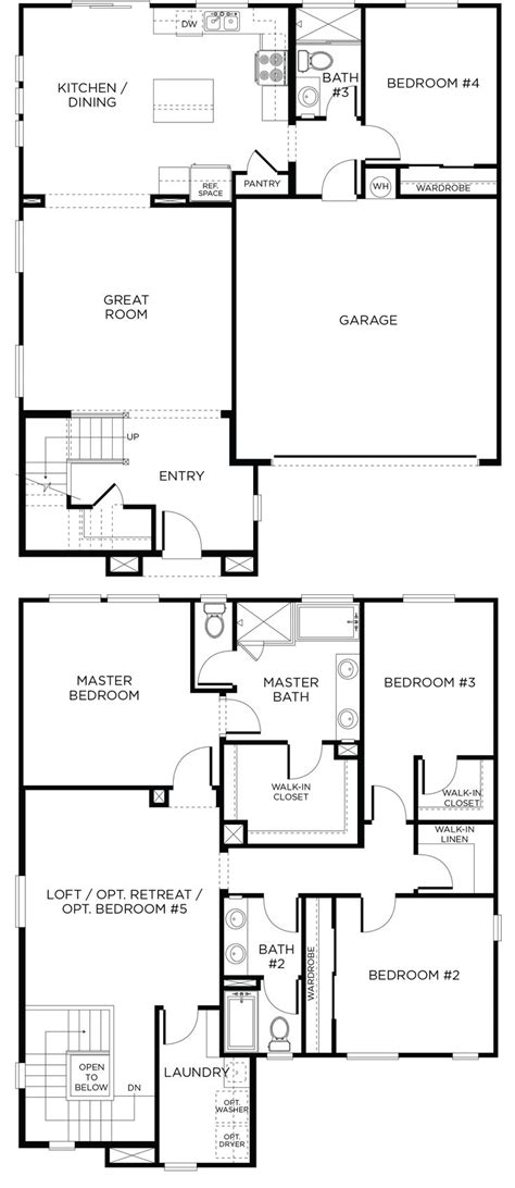 las vegas floor plans camino plan 3a north las vegas floorplan newhome
