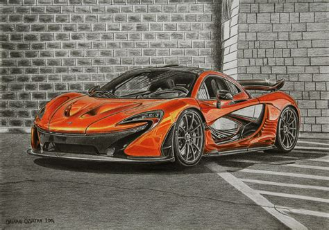 mclaren drawing the gallery for gt mclaren p1 drawing