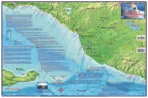 ventura santa barbara surfing map franko s fabulous maps