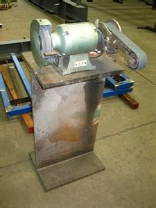 bench grinders australia bench grinder with linisher attachment unbranded auction