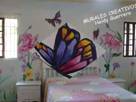 mariposas para decorar paredes