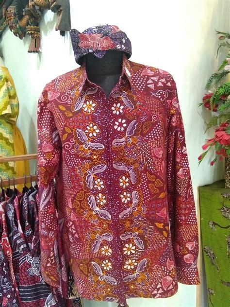 Kemeja Batik Motif Batu jual kemeja batik tulis madura modern motif kupu diagonal
