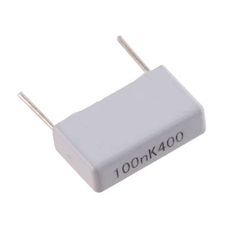 100nf capacitor polyester 10pcs evox mmk metallized polyester capacitor 100nf 400v