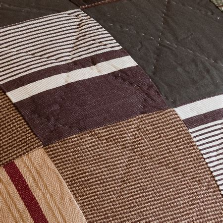 Brown Patchwork Quilt - watson brown patchwork quilt