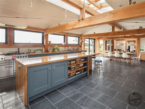 Open Concept Kitchen Ideas by Timber Frame House Designs Awarding Winning Design