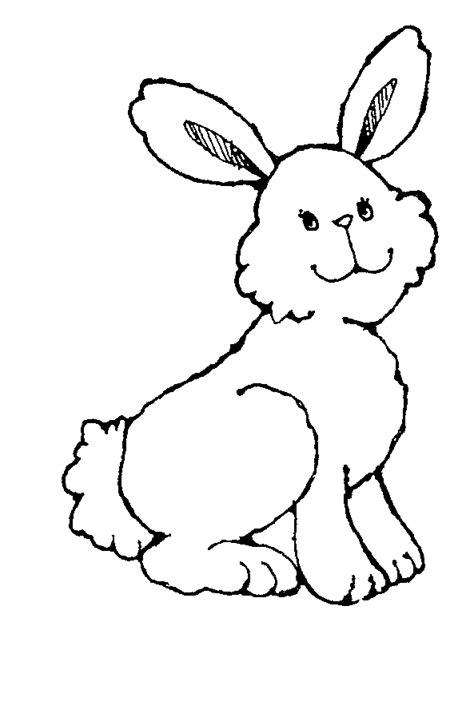 Bunny Clipart Black And White white rabbit clip cliparts co
