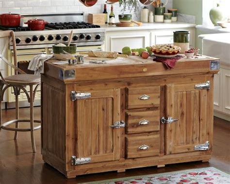 wood island kitchen country kitchen island lighting afreakatheart
