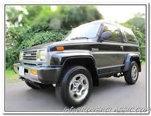 1990 Daihatsu Rocky Mpg Daihatsu For Sale Carsforsale