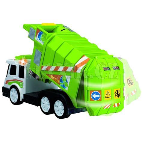 garbage truck bed dickie popel 225 řsk 233 auto garbage truck max 237 kovy hračky