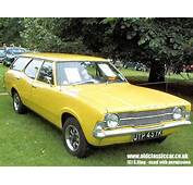 Cortina Mk3 Estate From Ford Built In 1970s Colours Yellow