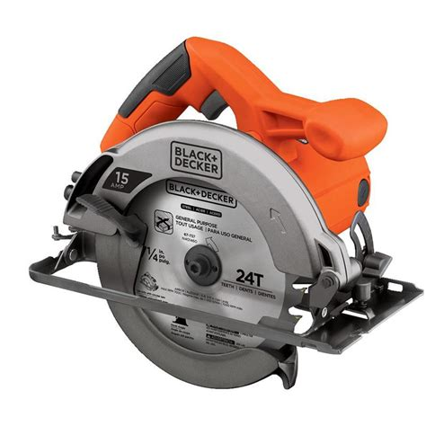 black and decker small circular saw black decker cs1015 circular saw 15 amp 7 1 4 in