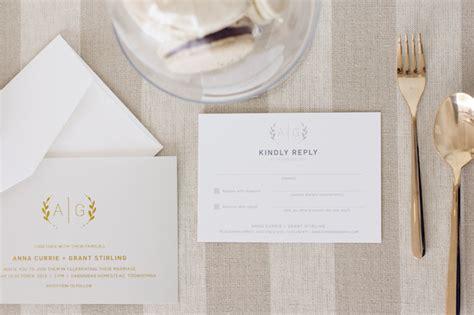 wedding stationery suite monogrammed minimalist wedding stationery suite the