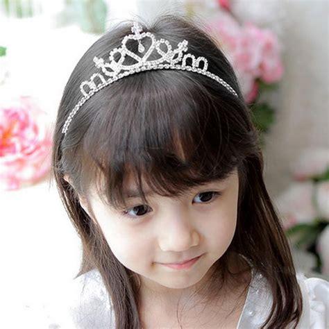 flower children wedding prom tiara crown headband kid size baby princess headband