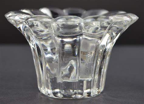 Glass Candle Stick Holders Forever Candlestick Candle Votive Holder 2 Quot