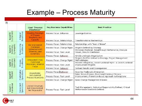 business process review template process improvement report template report