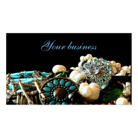 Jewelry Business Card Zazzle - jewelry designer business cards zazzle