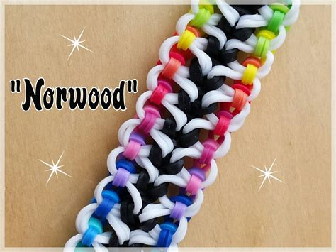 youtube tutorial loom bands quot norwood quot rainbow loom bracelet how to tutorial youtube