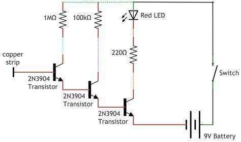 non contact voltage detector circuit diagram non contact voltage detector make