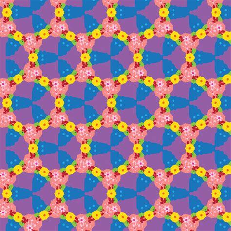 modern floral pattern free vector in adobe illustrator ai vector pattern flowers free vector in adobe illustrator ai