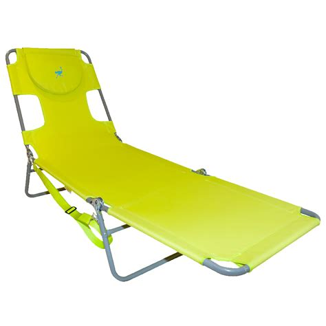 ostrich folding chaise lounge ostrich folding chaise lounge green