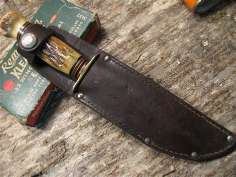 marbles knives history marbles 5 quot ideal stag stag early knife treeman knives