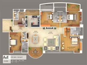 Floor Plan 3d Software by Apartments 3d Floor Planner Home Design Software Online